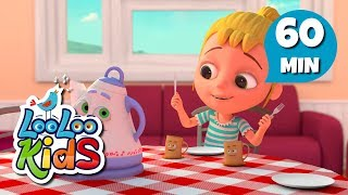 Polly Put the Kettle On - Learn English with Songs for Children | LooLoo Kids
