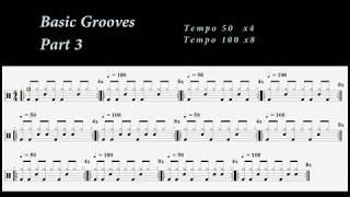 Μάθημα Ντραμς(5ο)-Αρχικοί Ρυθμοί(Οι αγαπημένοι μου)