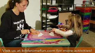 Children's Bible Activities - Noah's Ark Bible Craft - Bible Time