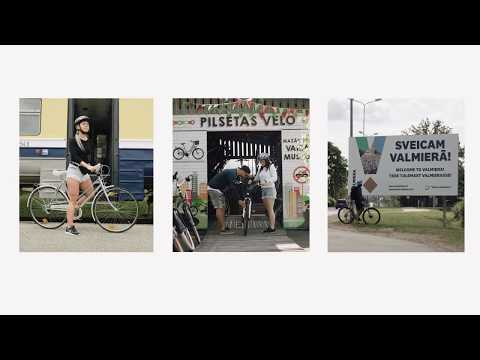 Get to know Valmiera by bicycle!