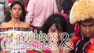 preview picture of video 'PARACHICOS Y CHIAPANECAS EN LA FIESTA GRANDE DE CHIAPA DE CORZO - THE BIG FESTIVAL'