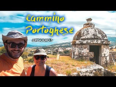 ATTRAVERSIAMO IL CONFINE A PIEDI 🚧 • Cammino Portoghese per Santiago 🚶🇵🇹 Ep.3