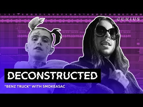 """The Making Of Lil Peep's """"Benz Truck"""" With Smokeasac 