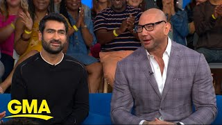 Dave Bautista and Kumail Nanjiani dish on what to expect from 'Stuber' | GMA