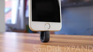 Intelligente Speichererweiterung für iPhone und iPad - SanDisk iXPAND Review