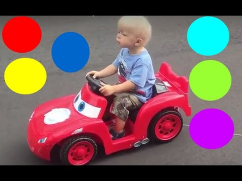 Learn Colors with FUNNIES TOYS SURPRISE  for Children - Colours for Kids to Learn