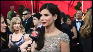 Sandra Bullock On The Oscar Red Carpet (2010)