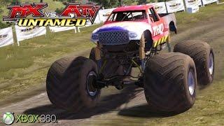 MX vs. ATV Untamed  - Xbox 360 / Ps3 Gameplay (2007)