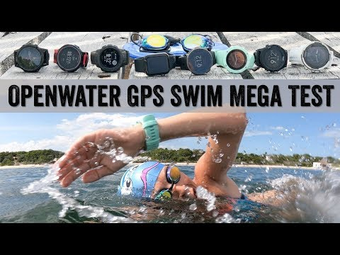 Openwater Swim Mega GPS Test // Garmin, Suunto, Polar, Apple, COROS