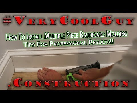How To Install Baseboard Molding – Best Way 3 Piece Custom