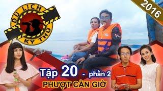 Miko Lan Trinh bất ngờ bị 'bạn trai' bỏ rơi tại Cần Giờ | DLKT #20 | Phần 2 | 010916