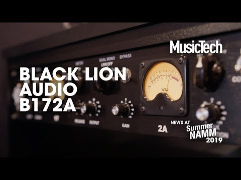 LA2A and 1176 combined in Black Lion's B172A #SummerNAMM2019