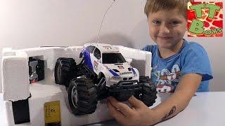 ✔ Монстр Трак - новая машинка Игорька. Видео для мальчиков. Monster Truck BMW / Cars for Boys