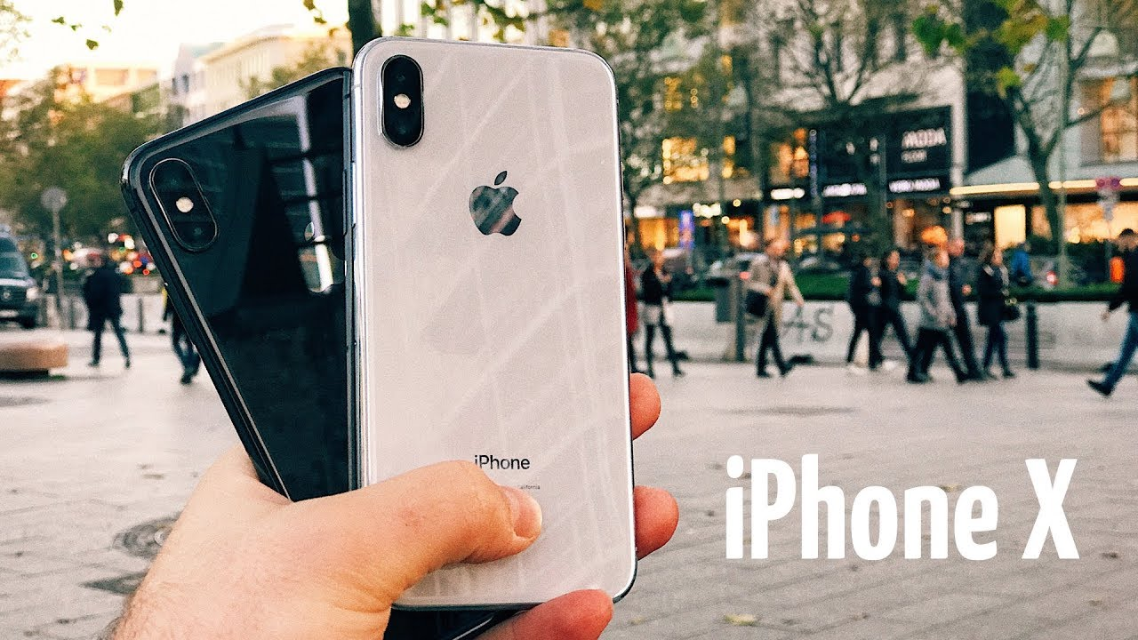 Apple iPhone X 64Gb Silver (3D069) Demo video preview
