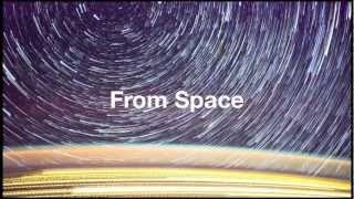 Смотреть онлайн Звездное небо с борта станции МКС