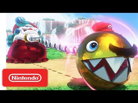 Super Mario Odyssey Trailer - Meet Cappy - Nintendo Switch