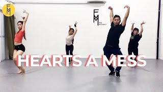 Hearts A Mess - Goyte Street Jazz Dance Choreography By Bryan Lee | Free Movement Dance Class