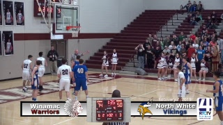 Winamac Boys Varsity Basketball vs North White