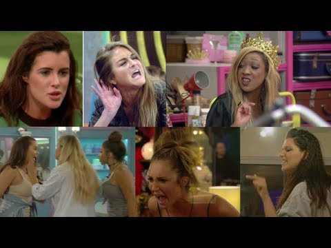 Top 20 Big Brother UK Girl Fights/Drama