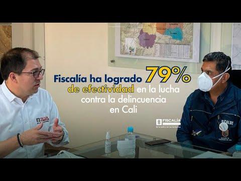 Fiscal Francisco Barbosa: 79% de efectividad en la lucha contra la delincuencia en Cali