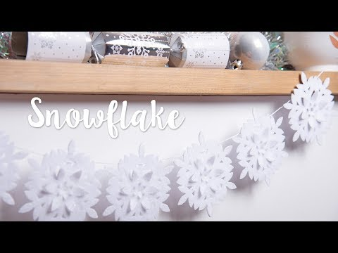 How to Make Snowflake Decoration - Sizzix