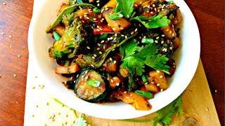 Stir fry Ngwaci (Sweet Potatoes) and Vegetables   Jikoni Magic