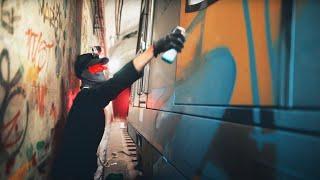 Against The Odds - Kid Aero & Friends Sydney Train Graffiti 2020