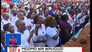Wauguzi waandamana Nairobi huku mgomo ukiingia wiki ya tatu