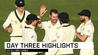 Sri Lanka bats struggle in Hobart