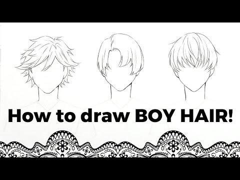 How To Draw Boy Hair Telenewsbd Com