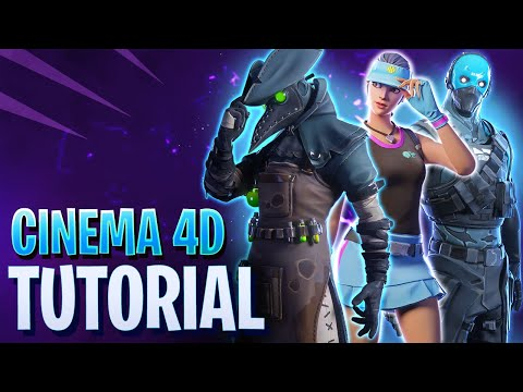 Fortnite 3D Character models for animation! [Free Download