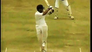 (HQ)Sachin Tendulkar 92 rips apart West Indies - Barbados 1997