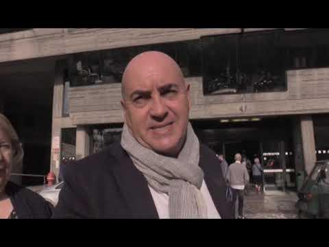 SANREMO :  ALBERTO PEZZINI CRITICA LO STATO DELLA NUOVA STAZIONE FERROVIARIA
