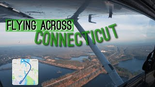 Flying Across Connecticut in a Cessna 152