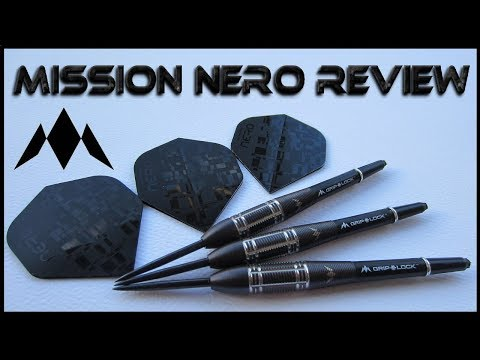 Mission Nero M3 Darts Review - 21 Grams - 90% Tungsten