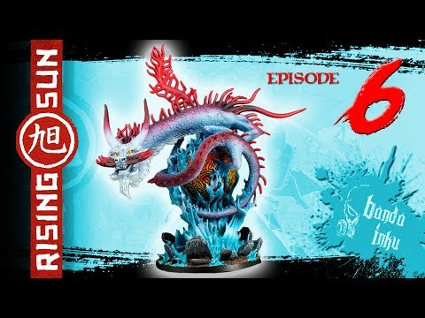 Painting Rising Sun Ep. 6 - River Dragon