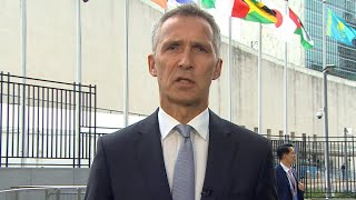 NATO Secretary General Jens Stoltenberg on Trump at UN