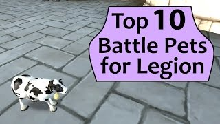 Top 10 Battle Pets for Legion