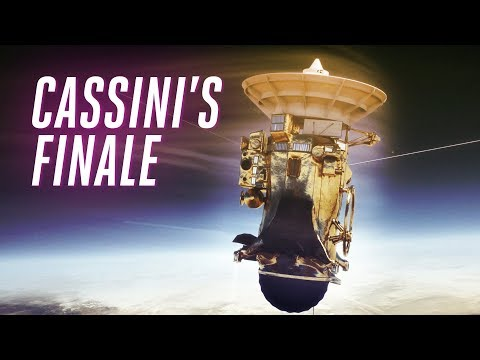 NASA's Cassini probe is about to dive into Saturn