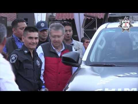 Entregan 25 patrullas más para mejorar la seguridad en Chimalhuacán