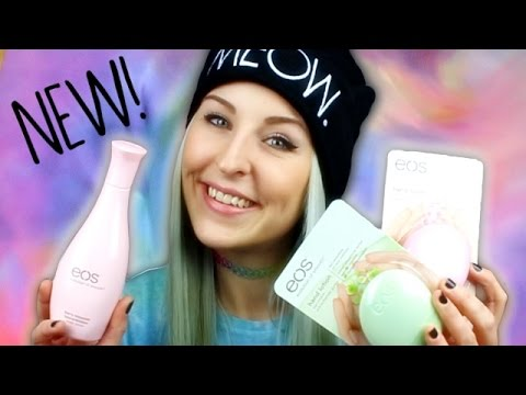 REVIEW | EOS hand & body lotion | evolution of smooth | berry blossom & Co. #Bonnytrash