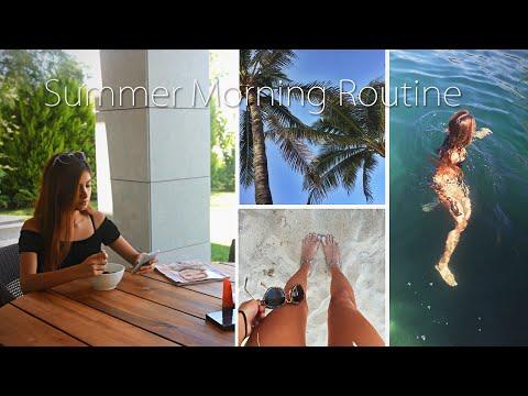 Моё летнее утро/My summer morning routine [2:33x720p]