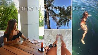 Моё летнее утро/My summer morning routine