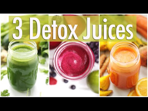 Video 3 Detox Juice Recipes for Healthy Skin & Digestion