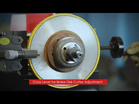 ON & OFF CAR BRAKE LATHE