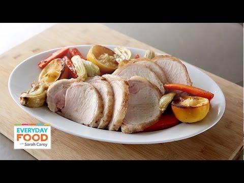 Pork Loin with Carrots