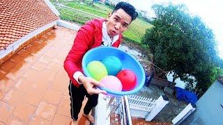 PHD | Thả Bóng Bay Nước Vào Đầu Vinh Tiền Lẻ | Water Balloons