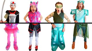 OUR COSTUMES ARE ALL MIXED UP! PUT US BACK TOGETHER Challenge By The Norris Nuts