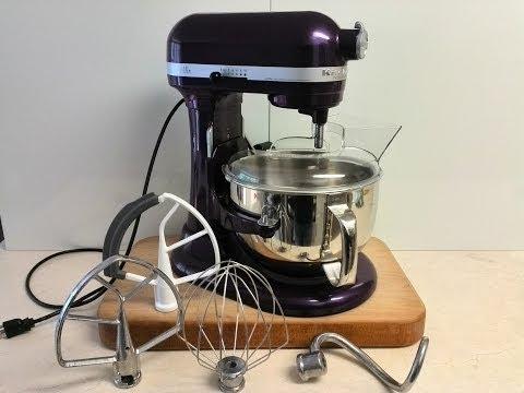 , KitchenAid Professional 600 Series KP26M1XER Bowl-Lift Stand Mixer, 6 Quart, Silver