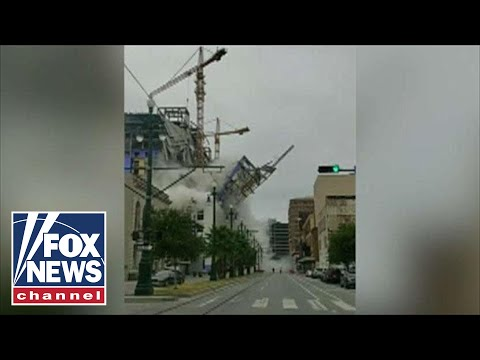At least one dead after Hard Rock Hotel collapses in New Orleans
